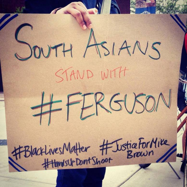 South Asians stand with Ferguson